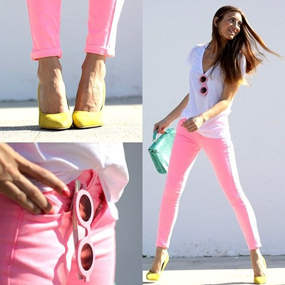 hot-pink-jeans-street-style